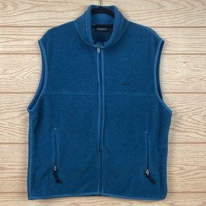 PATAGONIA Synchilla Blue Zipper Fleece Vest
